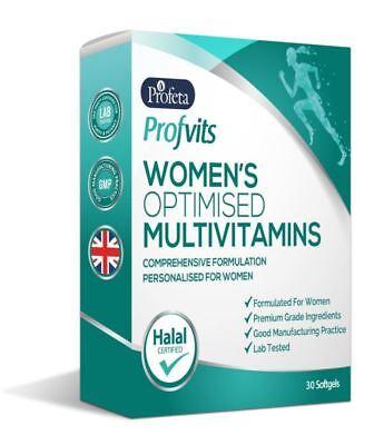 5 Htp 30 Kapseln (Profvits Damen Advanced Vitamin Mineral- Ergänzung (30) Kapseln Halal)