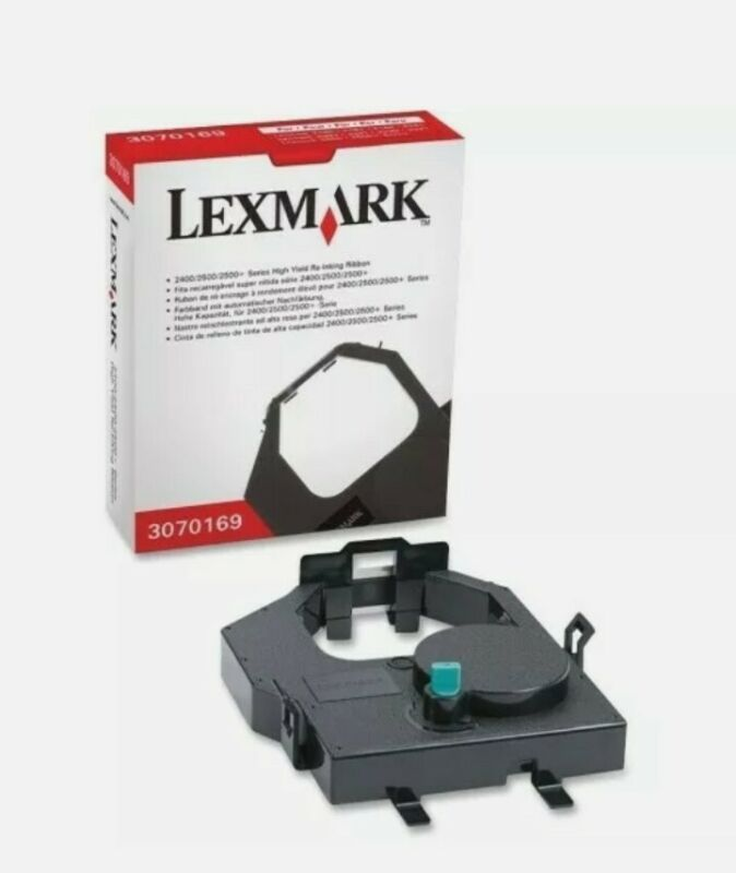 Lexmark High Yield Re-Inking Ribbon New FAST FREE SHIPPING