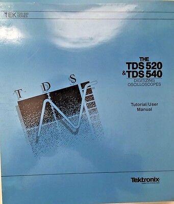 Tektronix Tds 520 Tds 540 Oscilloscope Tutorial User Manual Pn 070-8317-00