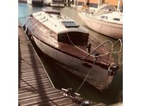29 foot 1936 Bermudan Cutter With Racing Pedigree - Restoration Project With a Long Detailed History