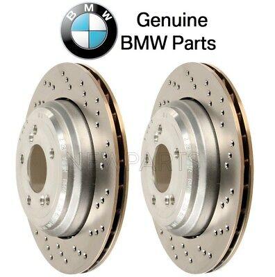 For BMW E46 M3 E85 E86 Z4 3.2L Pair Set of Rear Left & Right Brake Discs Genuine ()