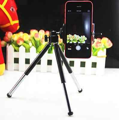 360°Rotatable Stand Tripod & Holder for iphone 4/4s/5/6 Samsung Galaxy Camera