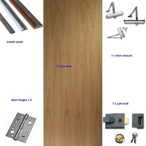 SUPPLY & FIT NEW 30MIN FIRE DOORS IN FLATS HMO HOUSES
