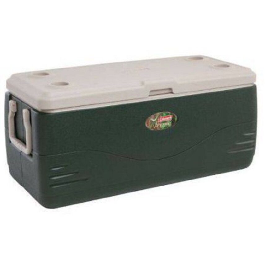 Coleman Xtreme 150 qt Cooler Green Ice Chest Large Coolers C