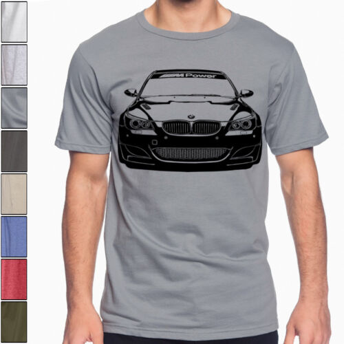 Bmw E60 M5 M-Power Soft Cotton T-Shirt Multi Colors & Sizes 540i 545i 550i