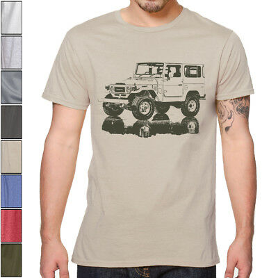 LAND CRUISER FJ40 SOFT Cotton T-Shirt S-XXXL Multi Colors Toyota Off Road
