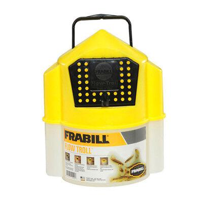 Frabill Flow Troll Minnow Bucket, 6-qt Self Closing Locking Lid Bait  Fishing