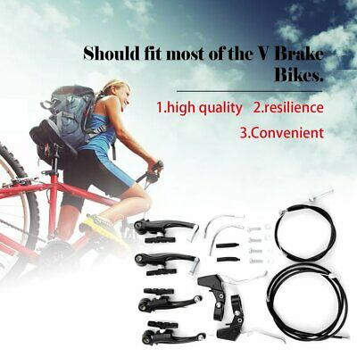 Racing Road Bike Q//R Alliage Long Reach etriers de freins Recess BOLT-avec pads
