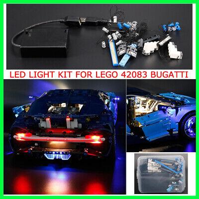 LED Light Kit For lego 42083 Bugatti Chiron Advanced Version Set W/ Battery box