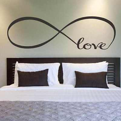 Removable Decal Art Mural Home Room Decor Wall Sticker Word Love Bedroom New