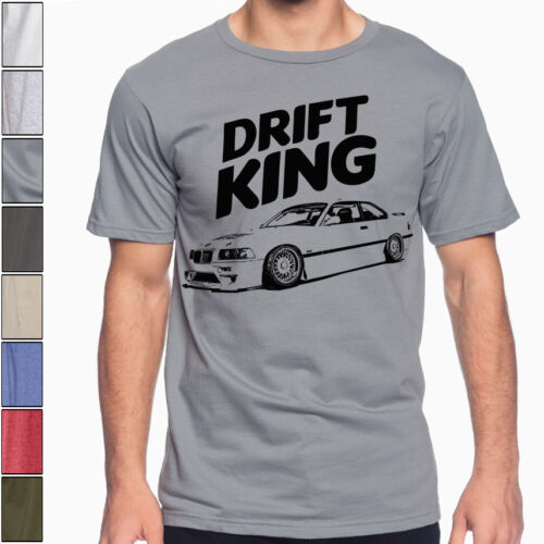 E36 BMW M3  Drifting King Soft T-Shirt Multi Colors S to 3XL