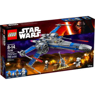 NEW LEGO Star Wars Resistance X-Wing Fighter 75149 W/ BB-8 Poe Figures Lor