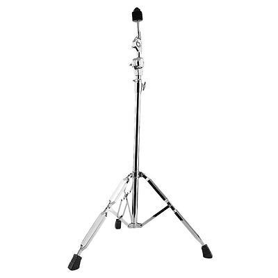 Hot Drum Hardware Arm Chrome Percussion Cymbal Boom Stand Double Braced Legs SG