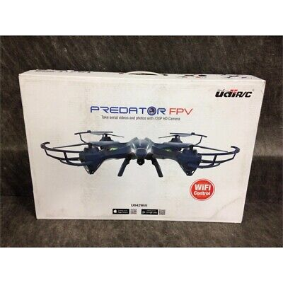 UDI RC Toys U842WiFi Predator FPV Quadcopter Drone w/720P HD Camera, 14 & Up