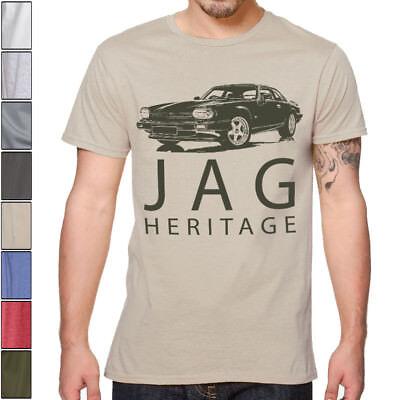 Jaguar Classic XJS Soft Cotton T-Shirt Multiple Colors & Sizes