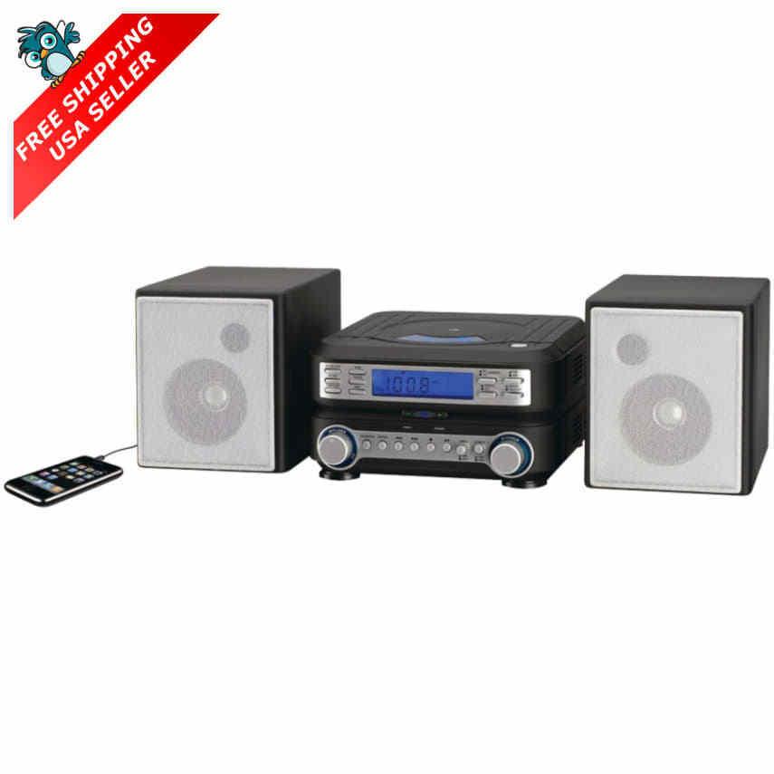 Gpx Am/fm Radio Cd Player Portable Stereo Shelf System Wi...