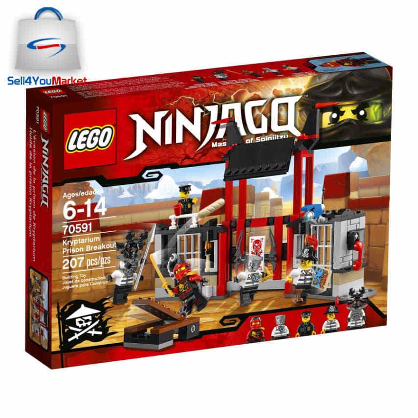Lego - LEGO NINJAGO Kryptarium Prison Breakout 70591 Building Set Sealed Free Shipping