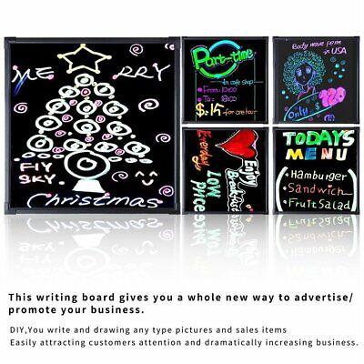 Led Tempered Glass Flashing Illuminate Writing Erasable Message Menu Board K