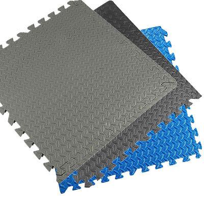 48/72/216 Sq.Ft EVA Foam Floor Mat Interlocking Exercise Gym Flooring
