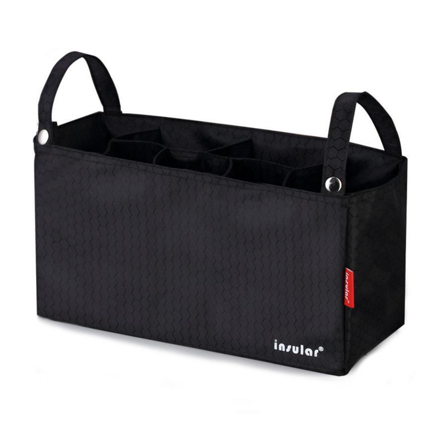 Waterproof Universal Stroller Bag Cup Holder Baby Diaper Bag