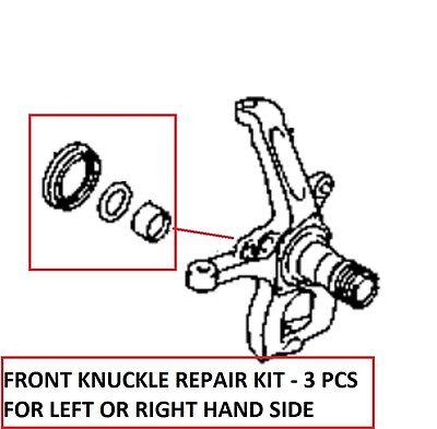 Fits Mitsubishi L200 Pick Up K74/K76/K77 Knuckle Oil Seal+Roller Bearing+Washer