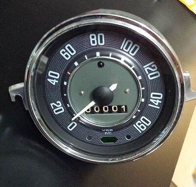 VW Beetle Karmann Ghia Tacho Tachometer Speedo up to 160 km/h