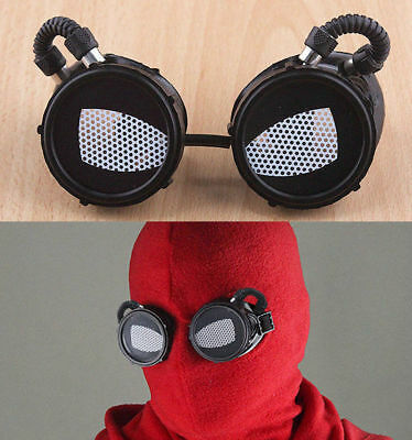 Spider-Man: Homecoming Peter Hoods Mask Glasses Halloween Fancy Ball Props