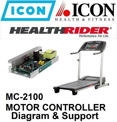 Equipment Parts & Accessories - Treadmill Motor Control