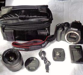 Canon 1200d. Complete package DSLR