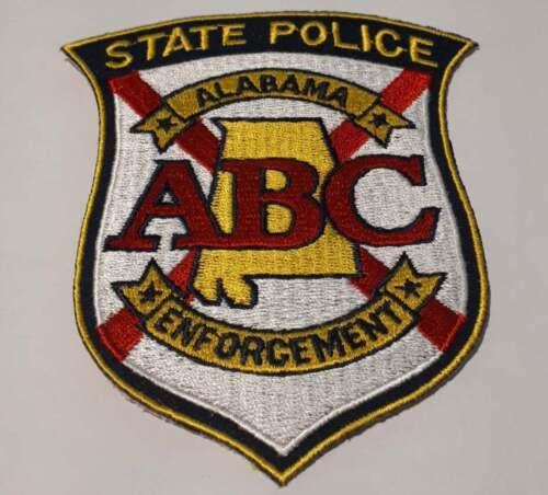 State Police Enforcement Alabama AL US Police Patch Vintage