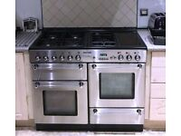 Tecnik 100cm Dual fuel Range cooker - Can deliver if needed