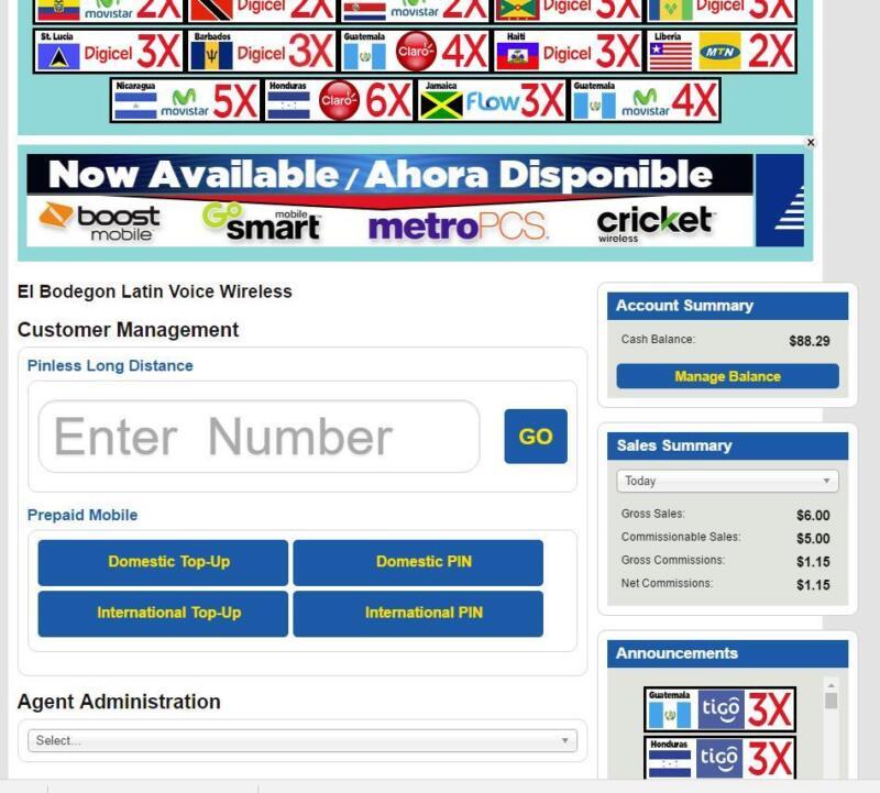 Cell Phone Phone Business Website Dealer Portal ATT Metro Cricket Boost Tmobile