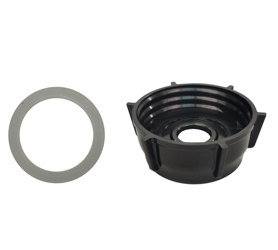 Bottom Jar Base Cap & Gasket Seal Ring Replacement Part,Fits