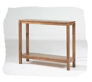Cub 960x280 Natural Hardwood Hall / Console Table - BRAND  NEW