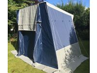 Freestanding Driveaway Motorhome/Campervan Awning - Ventura for units 240 - 280 cm high