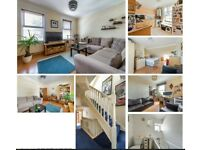 Two double bedroom, split level Victorian flat for sale in Leytonstone