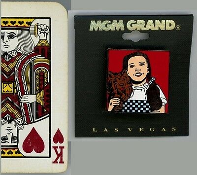 Wizard of Oz Enamel Lapel Pin: Dorothy & Toto! New, from MGM Grand, Las Vegas! (Toto From Wizard Of Oz)