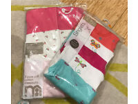 Baby cotton sleep suits and vests- 3-6months *brand new*