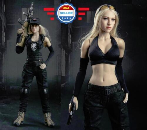 """1/6 Scale Tactical Camouflage Combat Clothing Set For 12"""" Female Figure Doll"""