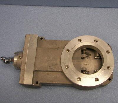 High Vacuum Research Chamber 4 Asa Manual Gate Valve By Cvc Products Hva