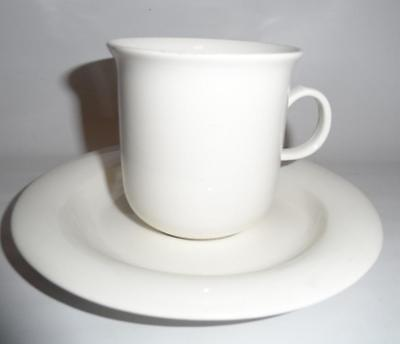 """ARABIA of Finland ARCTICA 3"""" Cup & Saucer White"""