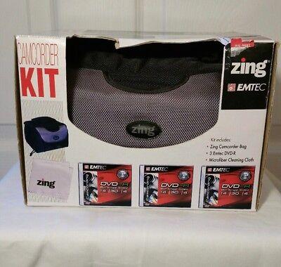 Camcorder Kit Bag (Zing EMTEC Camcorder Kit Bag New with box)