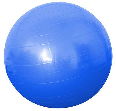 Gymnastikball Sitzball Fitnessball Yoga Sport Pilates blau 75 cm