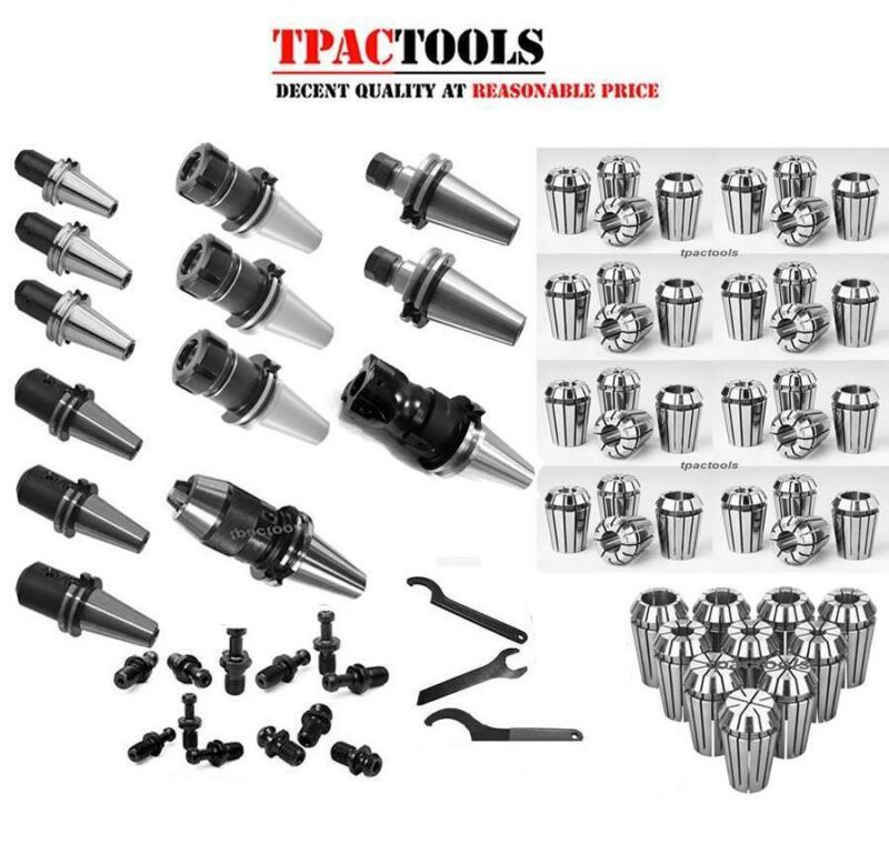 CAT40 TOOLING PACKAGE HAAS ER32 ER16 COLLET END MILL DRILL CHUCK FACE MILL NEW