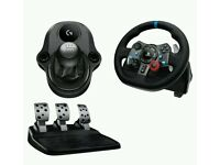 Logitech G29 Steering Wheel with Pedals and Gears