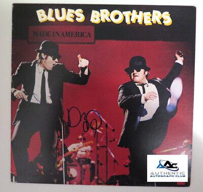 DAN AYKROYD AUTOGRAPH SIGNED BLUES BROTHERS MADE IN AMERICA VINYL LP PSA