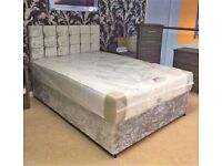 🏴 Free delivery ~ New UK manufactured BEDS with FREE HEADBOARD & DELIVERY 🚚