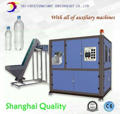Pet Bottle Machine2 Cavitiesbottle Blow Molding Machine Line With All The