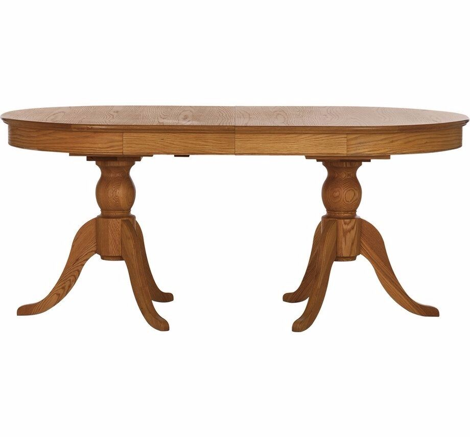 Schreiber Melbury Solid Wood Extendable Dining Table