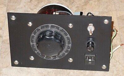 Powerstat Variable Autotransformer 116bu Input 120v Output 0-140v 10a 1.4kva